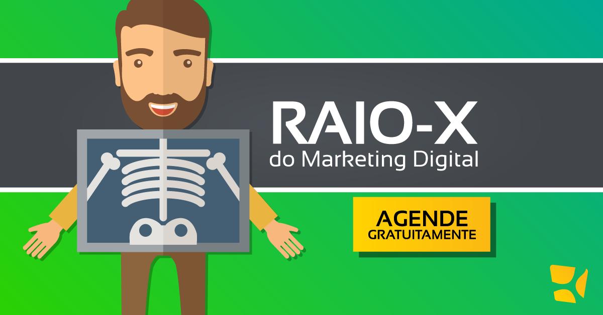 raio-x do marketing digital